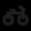 Bike Transportation Transport Icon