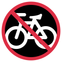 Bicycle Bike Forbidden Icon