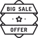 Big Sale Offer Icon