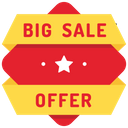 Big Sale Offer Icon