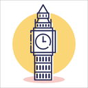 Bigben tower Icon