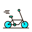 Bike Delivery Delivery Shipping Icon