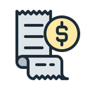 Bill Bills Invoice Icon