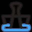Binder Clip Bulldog Clip Office Clip Icon