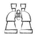 Binocular Research Business Icon