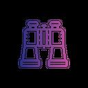 Binocular Watch Search Icon