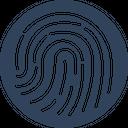 Biometric Fingerprint Reader Fingerprint Scanner Icon