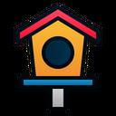 Bird House Animal Pet Icon