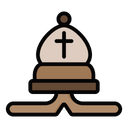Bishop Camel Cross Icon