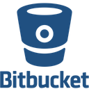 Bitbucket Original Wordmark Icon