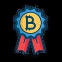 Bitcoin Badge Best Icon