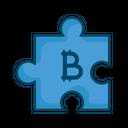 Bitcoin Block Puzzle Icon