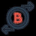 Bitcoin Exchange Chain Icon