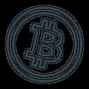 Bitcoin Btc Coin Icon