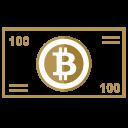 Bitcoin Money Pay Icon