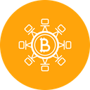 Bitcoin Secure Transaction Icon