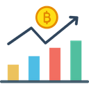 Bitcoin Analysis Bitcoin Chart Bitcoin Graph Icon