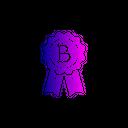 Bitcoin Badge Icon