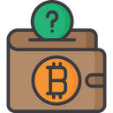 Currency Balance Bitcoin Wallet Savings Icon