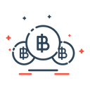 Bitcoin Card Currency Icon