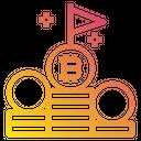 Bitcoin Flag Icon