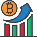 Currency Graph Cryptocurrency Graph Growth Icon