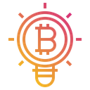 Business Cryptocurrency Digital Icon