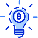 Bitcoin Innovation Cryptocurrency Innovation Currency Innovation Icon