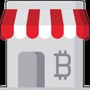 Bitcoin market Icon