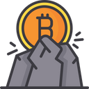 Mining Bitcoin Mining Cryptocurrency Mining Icon
