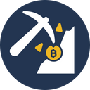 Bitcoin Mining Bitcoin Payments Transaction Process Icon
