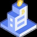 Bitcoin office Icon