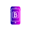 Bitcoin Online Currency Icon