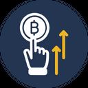 Bitcoin Startup Coinbase Startup Crypto Space Icon