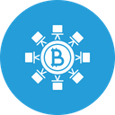 Secure Transaction Block Icon