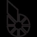 Bitshares Cryptocurrency Crypto Icon
