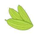 Bitter Melon Greens Vegan Icon