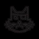 Black Cat Evil Icon