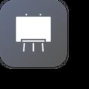 Black Board Study Icon