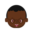 Black Kid Kid Baby Icon