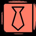 Black Tie Technology Logo Social Media Logo Icon