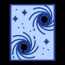 Blackhole Hole Star Icon