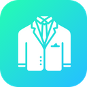 Blazer Suit Dress Icon