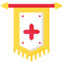 Blazon Kingdom Flag Icon