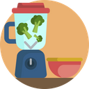 Baby Blender Food Icon