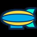 Airship Blimp Zeppelin Icon