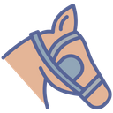 Horse Equestrian Winker Icon