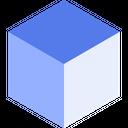 Block Cube Icon