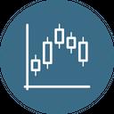 Block Chain Graph Icon