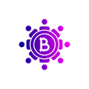Bitcoin Secure Block Icon